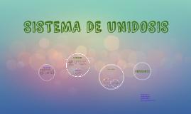 Copy of SISTEMA DE UNIDOSIS