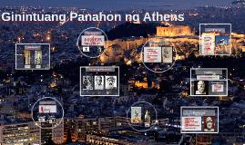 Copy of Ginintuang Panahon ng Athens