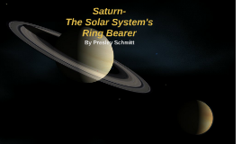 Saturn: The Solar System's Ring Bearer