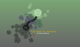 Case Study: Mr. Monopoly