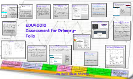 Assessment for Primary- Folio