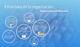 Estructura de la organización: