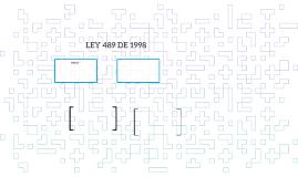 LEY 489 DE 1998