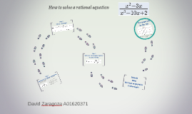 How to solve a rational equation