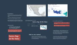 Investigar una cuenca de la República Mexicana para proyecto
