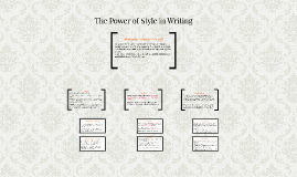 The Power of Style in Writing