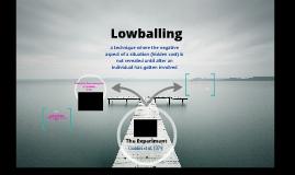 Lowballing