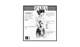 Copy of Copy of Zara - A Human Resources Perspective