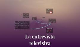 La entrevista televisiva: es una comunicación interpersonal