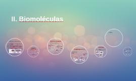 II. Biomoléculas