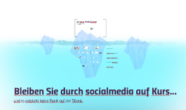 Der social media Eisberg! short