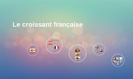 Le croissant francaise