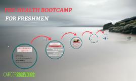 pre-health bootcamp FSSP