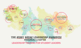 LEADERSHIP TRAINING FOR STUDENT-LEADERS