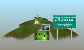 Energy for Sustainable Development (ESD)