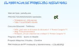 ELABORACIÓN DE PROYECTOS INTEGRADOS