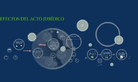 Copy of EFECTOS DEL ACTO JURÍDICO