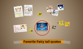 Favorite Fairytail quotes