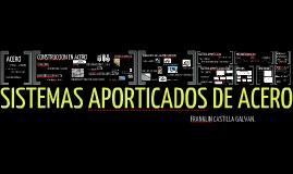 Copy of Sistemas aporticados de acero