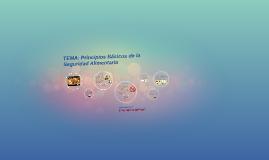 TEMA: Principios Básicos de la Seguridad Alimentaria