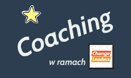 Coaching w Fundacji Change Leaders