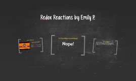 Copy of Redox Reactions