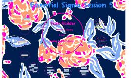 Essential Sigma Session 5