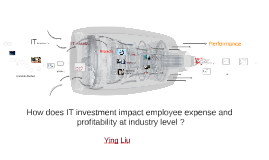 How does IT investment impact employee expense and profitabi