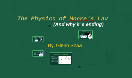 The Physics of Moore's Law