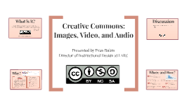Creative Commons - Images, Videos, and Music