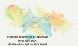 Copy of Pediatric Evaluation of Disability Inventory (PEDI)