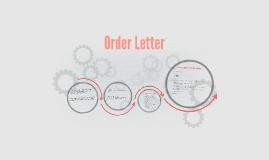 Order Leter