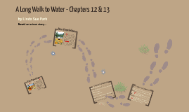 A Long Walk to Water - Chapters 12 & 13