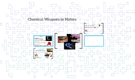 Chemical Weapons in Nature