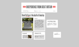 INDEPEDANCE FROM GREAT BRITAIN