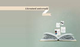 Literatură universală