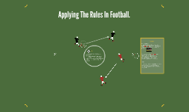 Applying The Rules In Football.