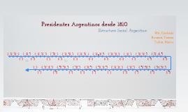 Copy of Línea de Presidentes Argentinos