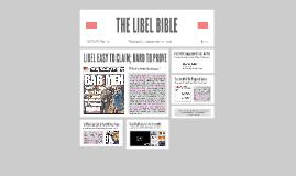 The Libel Bible