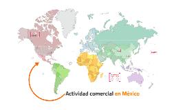 Actividad comercial en México