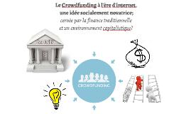 Le Crowdfunding à l'ère d'internet