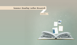 Summer Reading Author Research