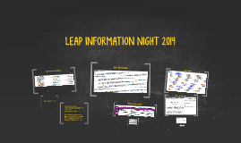 LEAP INFORMATION NIGHT 2019