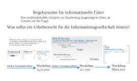 Regelsysteme für Informationelle Güter