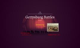 Gettysburg Battles