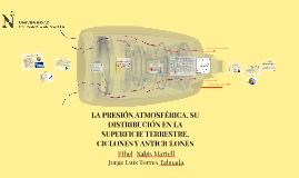 LA PRESIÓN ATMOSFÉRICA, SU DISTRIBUCIÓN EN LA SUPERFICIE TER