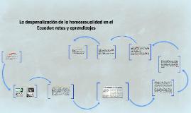 Despenalización de la homosexualidad