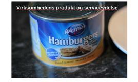 Copy of Virksomhedens produkt og serviceydelse