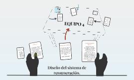 Diseño del sistema de renumeración