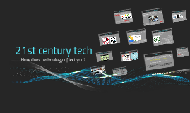 PBL Entry Event: 21st century tech